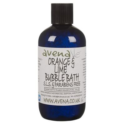 Orange & Lime SLS Free Luxury Bubble Bath